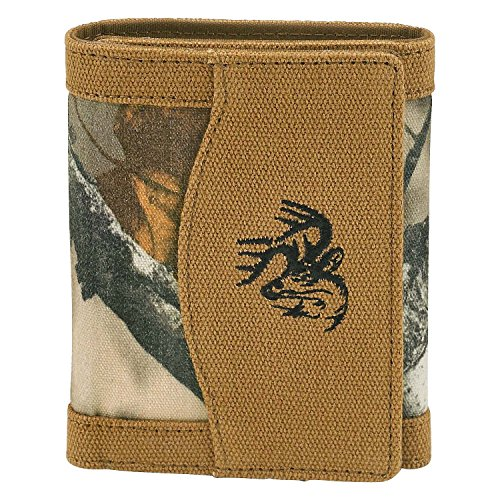Legendary Whitetails Men's High Impulse Canvas Tri-Fold Wallet Barley