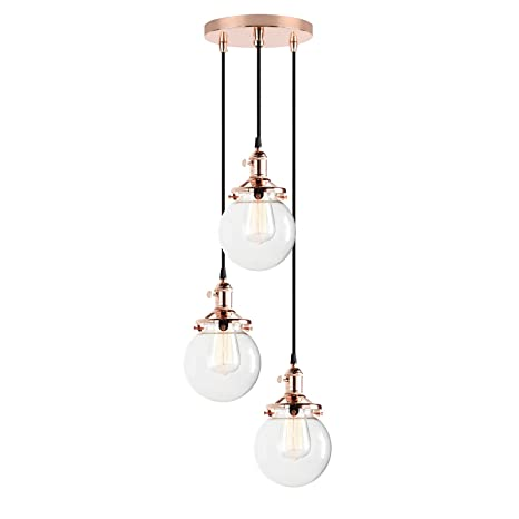Pathson Vintage Loft Bar Edison Ceiling Pendant Lights Ing Chandelier 3 Hanging Light Fixture