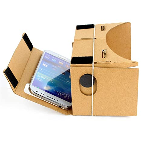 oyvind norberg DIY cartón Ultra Clear Calidad 3d vr Virtual Reality Valencia vasos para Google Nexus