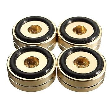 Herramienta accesorios DIY herramienta tocadiscos patas doradas, 4 ...