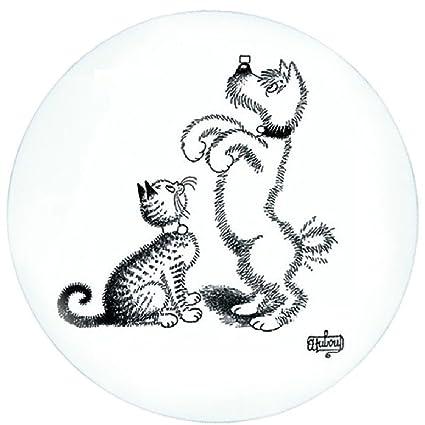 """Éditions Clouet 23402 – Plato para tarta ("""" – de gatos Dubout – Adiestramiento"""