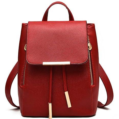 Backpack for Girls Schoolbag Casual Daypack Ladies Shoulder Bag Large  Capacity Travel Bag Getaway Bag Fashion 36a1c642fbccb