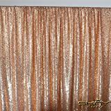(US) ShiDianYi 8 X 8, Ready to Dispatch,Rose Gold Sequin Backdrops,Rose Gold Sequin Photo Booth Backdrop, Party Backdrops,wedding Backdrops, Sparkling Photography Prop