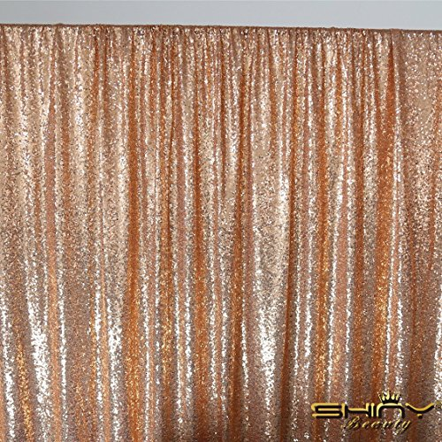 ShiDianYi 8 X 8, Ready to Dispatch,Rose Gold Sequin Backdrops,Rose Gold Sequin Photo Booth Backdrop, Party Backdrops,wedding Backdrops, Sparkling Photography Prop
