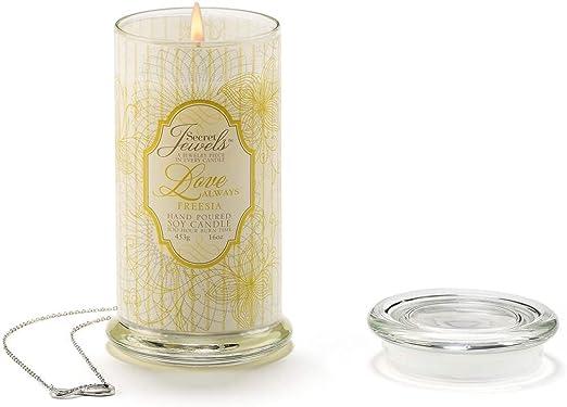 Rose Scent Alexandrite Secret Jewels June Birthstone 6 Oz Candle Jar