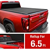 MaxMate Soft Roll Up Truck Bed Tonneau Cover for 2014-2019 Chevy Silverado/GMC Sierra 1500; 2015-2019 2500 HD 3500 HD   2019 Classic ONLY   Fleetside 6.5' Bed