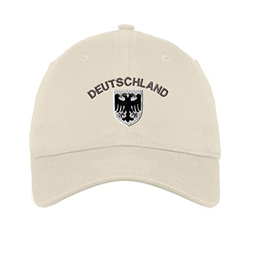 113a62f0cf8 Amazon.com  Deutschland Black White German Eagle Twill Cotton 6 ...