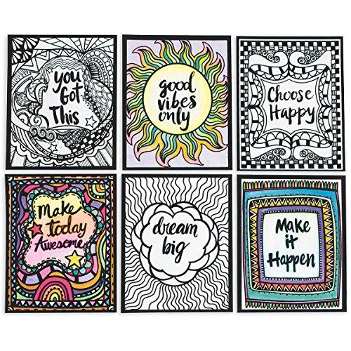 Think Positive Velvet Art Posters -