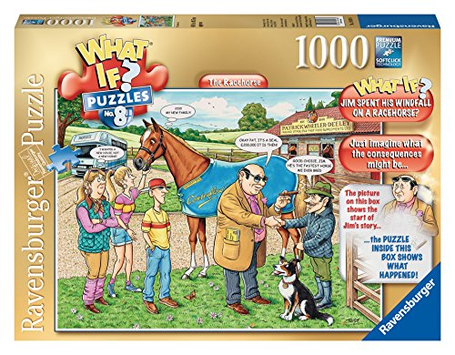 Ravensburger The Racehorse What If? Puzzle (1000-Piece)