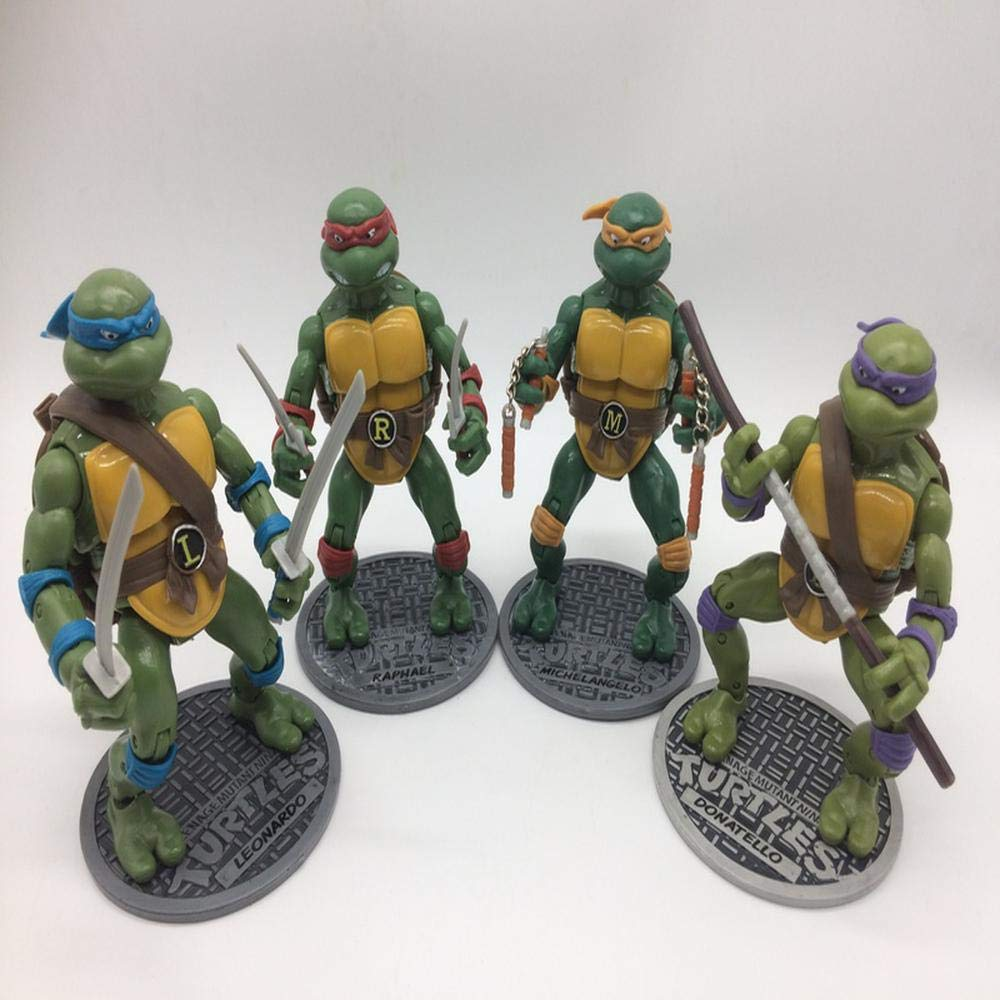 TMNT Teenage Mutant Ninja Turtle Modelo De Personaje Animado ...