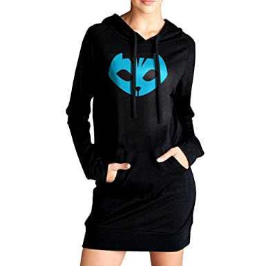 Fashion Hoodies For Women PJ Masks Owlette Crest Sweatshirts