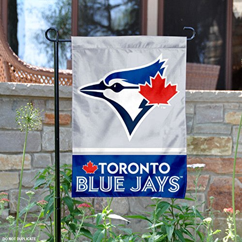 WinCraft Toronto Blue Jays Double Sided Garden (Toronto Blue Jays Banner)