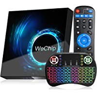 Android TV Box 10.0, WeChip T95 Android TV Box 4GB RAM 32GB ROM, Allwinner H616 Quad Core 2.4/5.0GHz Dual Band WiFi BT 5…