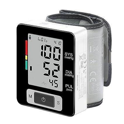 aimdonr clínicas automático de presión arterial Monitor, Pantalla grande Mostrar, portátil, – Tensiómetro