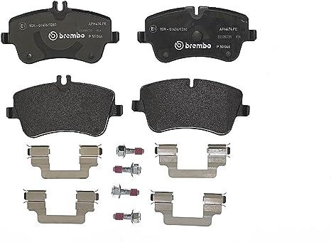 Brembo P 50 046 Bremsbelagsatz Scheibenbremse 4 Teilig Auto