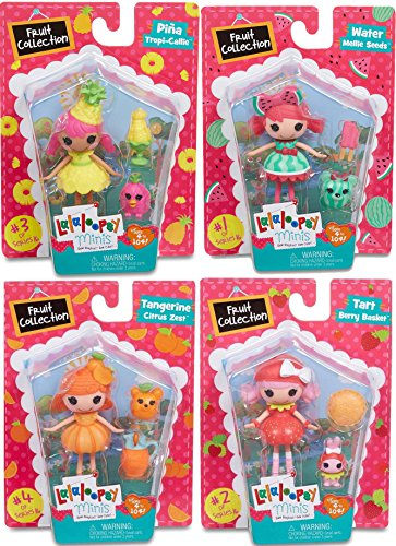 Lalaloopsy Minis Doll Set Fruit Collection #1 Water Mellie S
