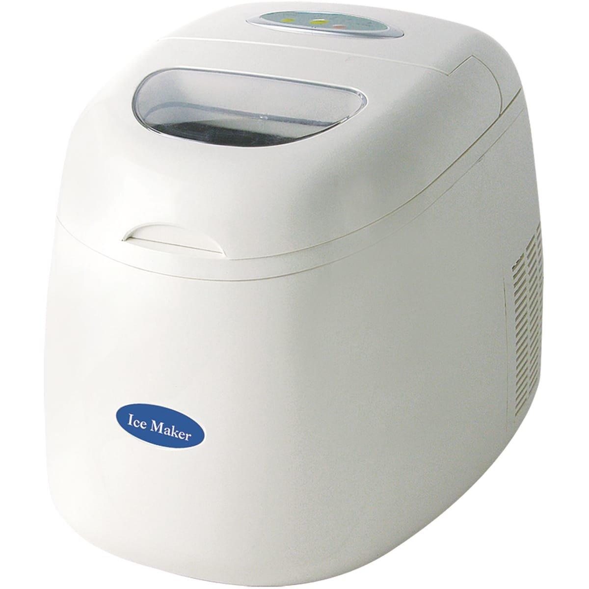 Evatronic - 1118 - Machine à glaçons 150w 12kg/24h blanc Ice Maker