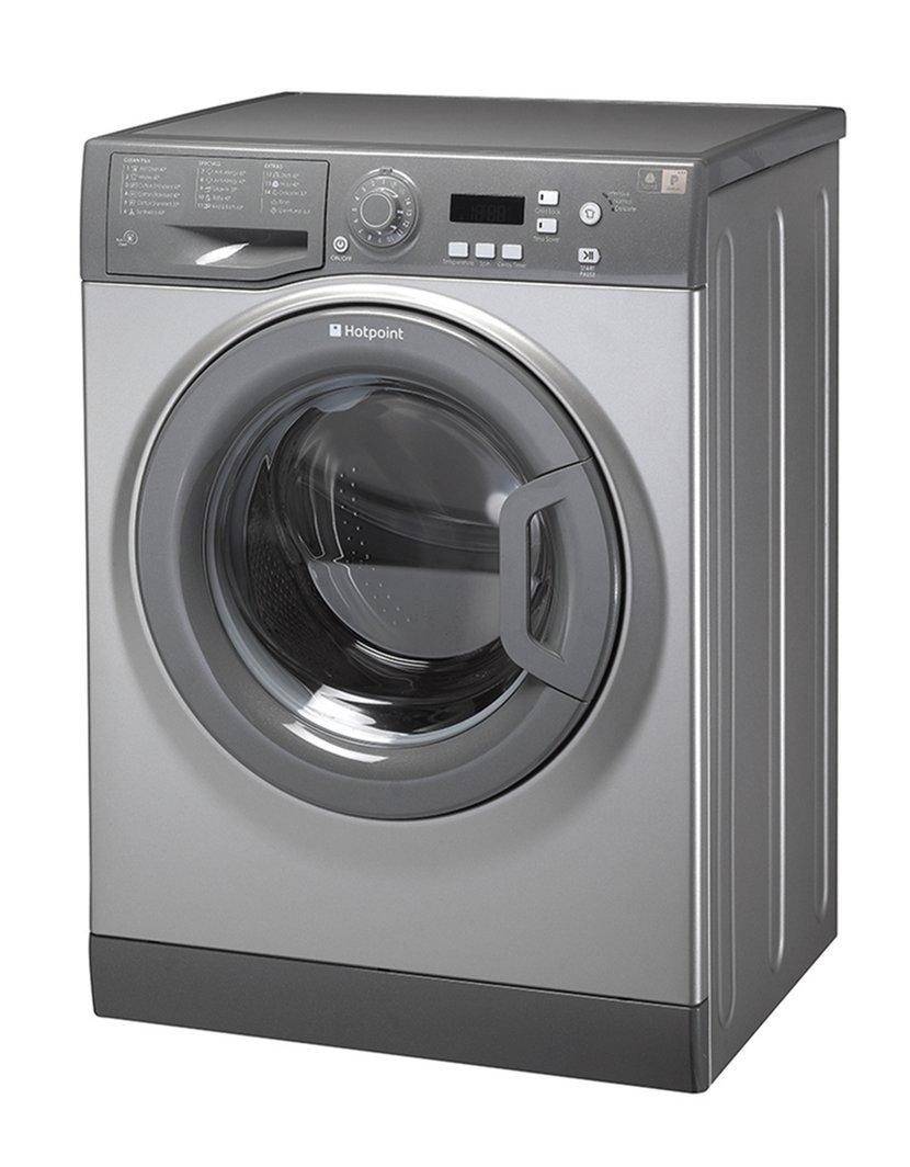 Interesting Hotpoint Washing Machine Black Wmaqf Uk Freestanding Is A Hightech Amazoncouk Intended Inspiration Decorating