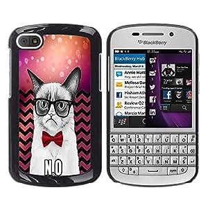 Dragon Case - FOR BlackBerry Q10 - You may be one person - Caja protectora de pl??stico duro de la cubierta Dise?¡Ào Slim Fit