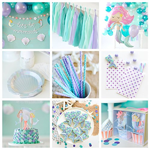 Let's Be Mermaids Boxed Collection - Party for 16 -