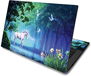 "MightySkins Skin for Asus Chromebook C425 14"" (2019) - Unicorn Fantasy 