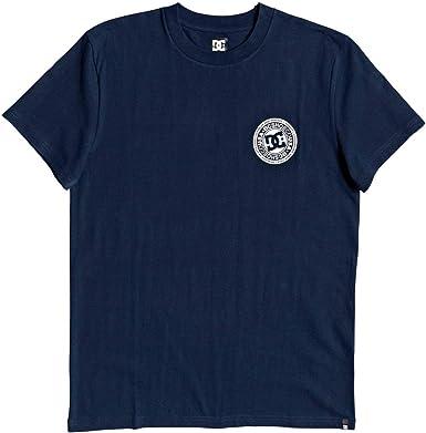 DC Shoes Circle Star - Camiseta para Hombre Camiseta Hombre