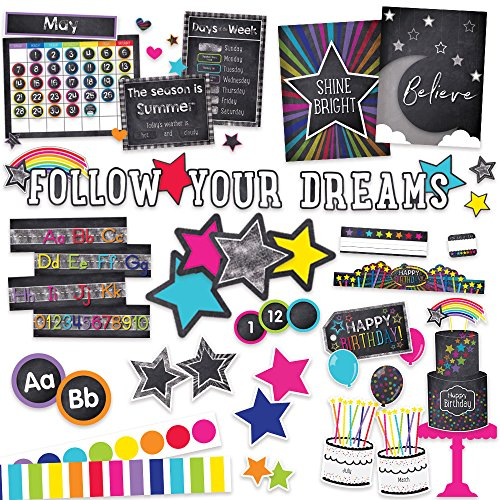 Twinkle Twinkle You're A Star Classroom Environment Décor All In One Kit ()
