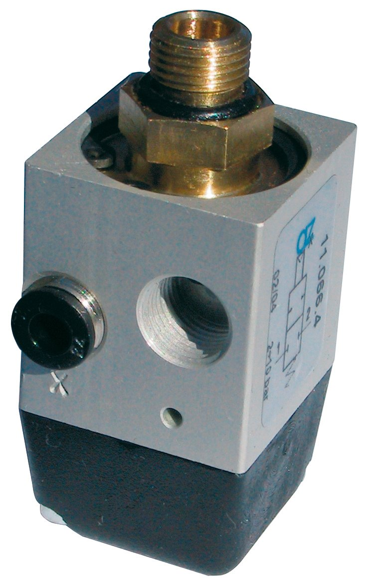 AZ Pneumatica 11.044.4, pneumatic unblocking, check valve, G 1/8 inch pneumatic unblocking G 1/8inch AZ Pneumatica srl