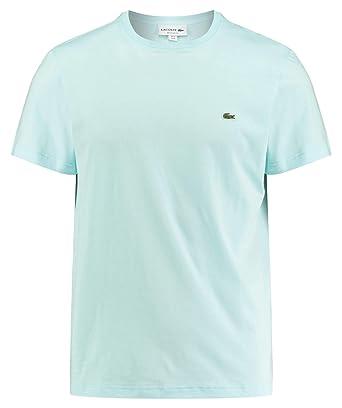efb9c63edb Lacoste TH2038 Homme T-Shirt col Rond,Monsieur Tshirt,Tee Basique,Taille