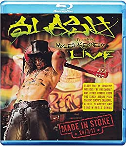Slash Featuring Myles Kennedy: Made In Stoke 24/7/11 [Blu-ray]