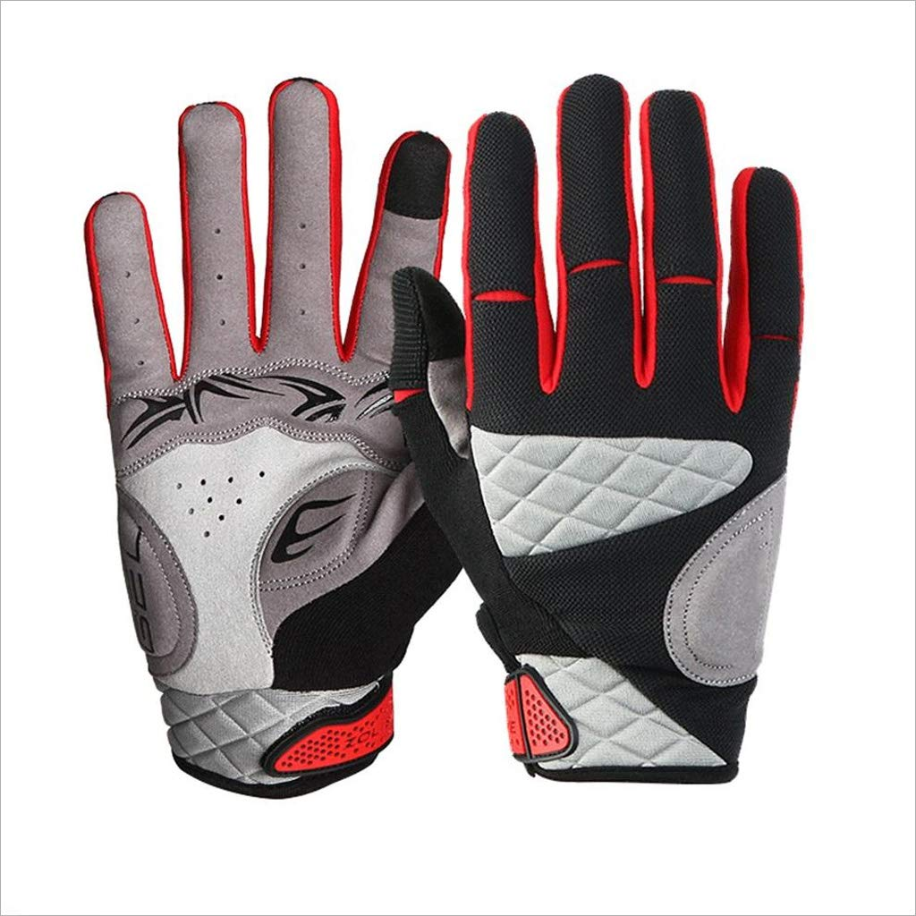 ZDYLL Touch Screen Gloves, Winter Gloves Driving Cycling Gloves Work Gloves for Men and Women (Size : Black-M) by ZDYLL