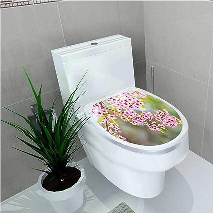 Amazoncom Aolankaili Decal Wall Art Decor Himalayan Cherry Blossom - Avocado-green-bathroom-tile