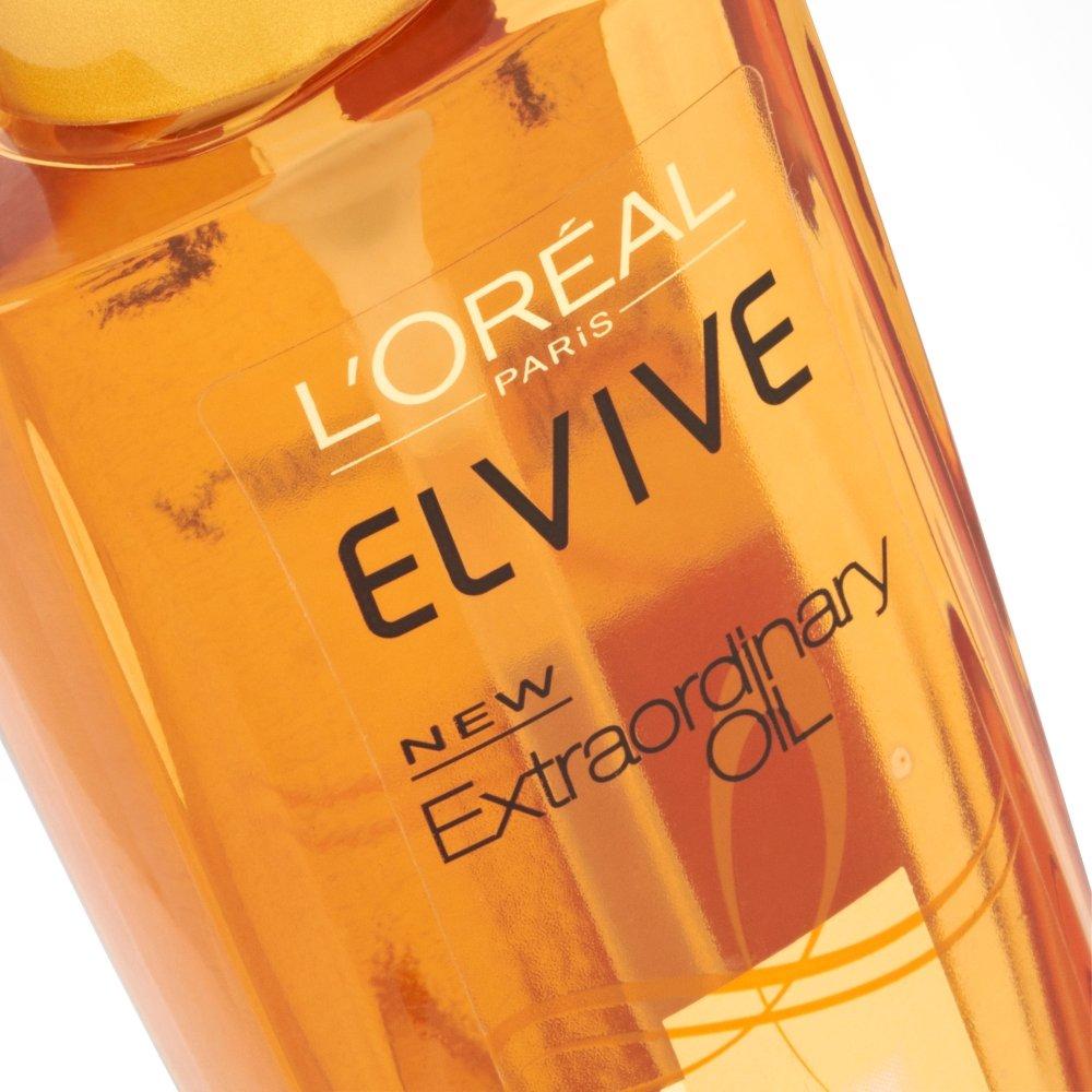 Loreal Elvive Extraordinary Oil All Hair Types 100ml Spa 500ml Beauty