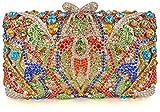 Crystal Clutch for Women Rhinestone Evening Bag (multicolour)