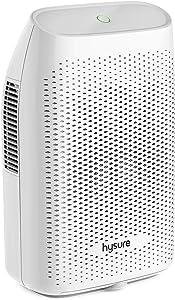 Hysure Quiet and Portable Dehumidifier Electric, Deshumidificador, Home Dehumidifier for Bathroom, Crawl Space, Bedroom, RV, Baby Room (2000ml) …