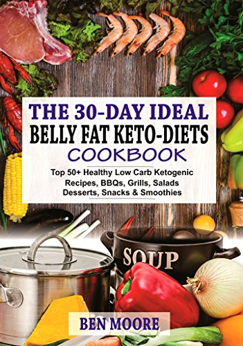 Flat Dessert (30-DAY BELLY FAT KETO-DIETS: Top 50+ Healthy Low Carb Ketogenic Recipes, BBQ's, Grills, Salads, Desserts, Snacks and Drinks For Belly Fats and Weight Loss)