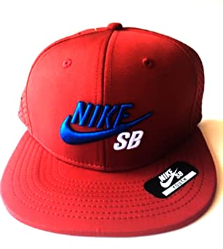 Nike SB Skateboarding Icon Snapback Hat Everyday Trucker Style Sports Cap  (Brown Royal  fd7f02d4d8e0