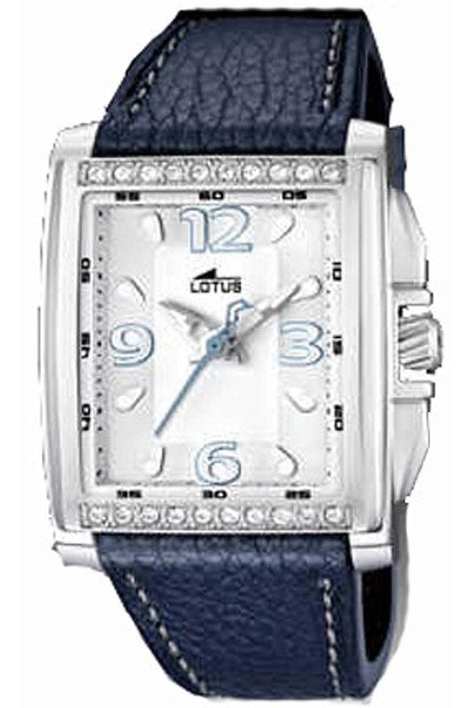 Amazon.com: Lotus m.piel 15996/3 - Reloj de cuarzo para ...