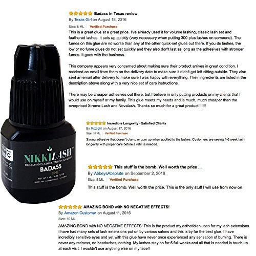 Buy eyelash glue that lasts for weeks