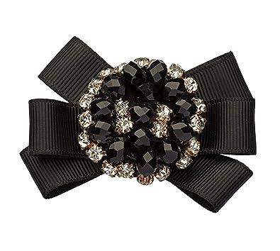 755dd13907d La Loria Accessoires Femme Clips pour chaussures  quot Graceful quot  dans la  couleur noir-