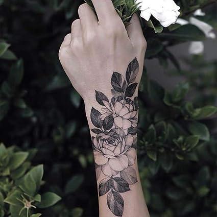 LNNHJB Etiqueta engomada Impermeable Flotante del Tatuaje del ...
