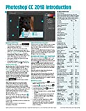 Adobe Photoshop CC 2018 Introduction Quick Reference Guide (4-page Cheat Sheet of Instructions, Tips & Shortcuts - Laminated Card)