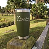 YETI Rambler Custom Engraved w/Name Now available in Limited Edition Pink - NOT A STICKER
