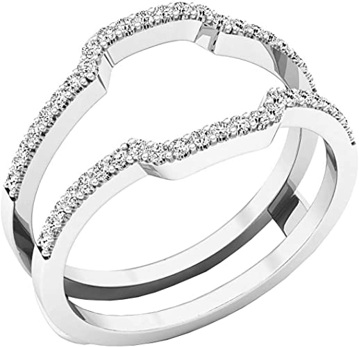 Women/'s Timeless Wedding Ring Clear CZ New .925 Sterling Silver Band Sizes 5-10