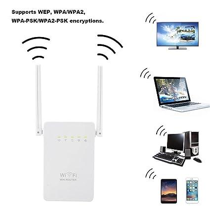 Amazon com: HEART SPEAKER Portable Mini Wireless Router Super Fast