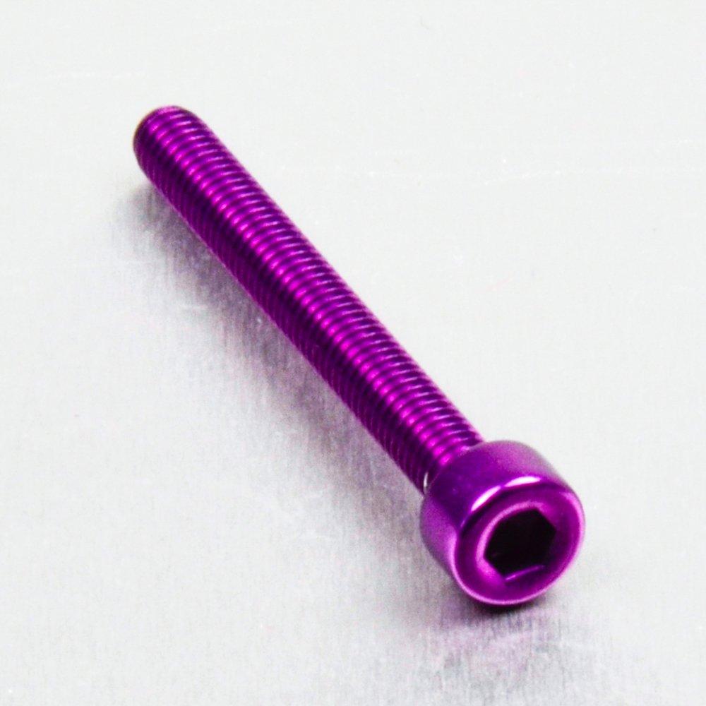 0.7mm Aluminium Allen Bolt M4 x x 35mm Black