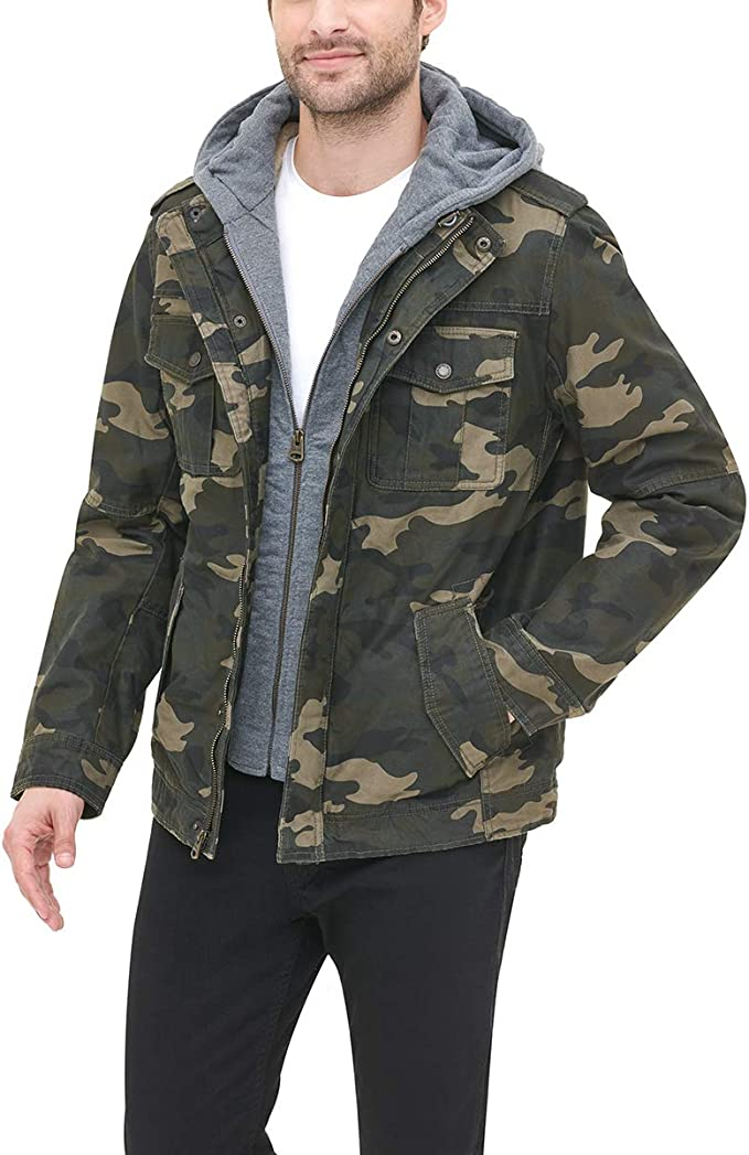 断码1.5折 Levi's 李维斯 水洗棉 男式保暖夹克外套 $29.99 海淘转运到手约¥299