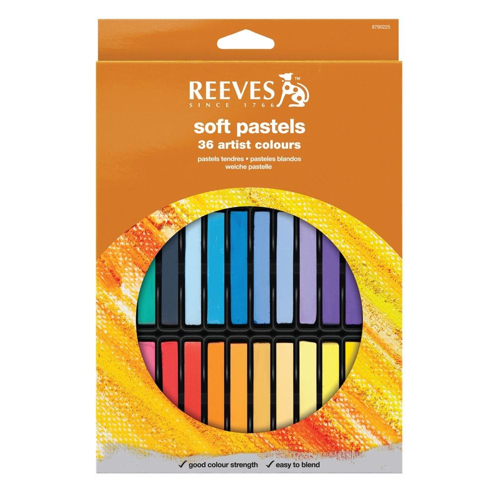 Reeves 36 Colors Soft Pastel Set