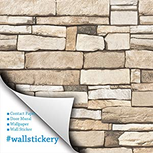 Wallstickery prepasted wallpaper self adhesive contact for Pre adhesive wallpaper