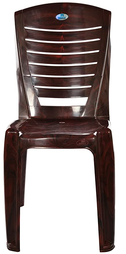 Nilkamal Chair (Brown)